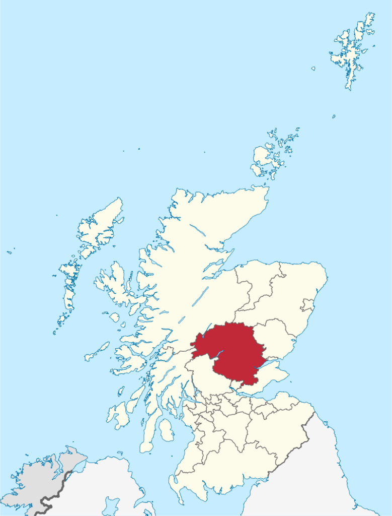 The Location of Perth Escorts and Kinross Escorts